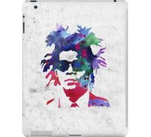 Jean-Michel Basquiat Splatter 2 iPad Case/Skin