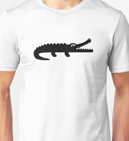 Black crocodile Unisex T-Shirt