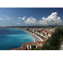 Nice Cote d'Azur Photographic Print