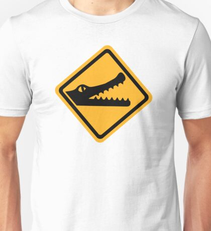 Crocodile sign Unisex T-Shirt