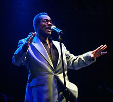 Wilson Pickett in concert by Brian Carr