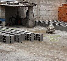 Outdoor Brickyard in Cotacachi by rhamm