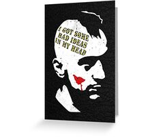 Taxi Driver, Travis Bickle Greeting Card