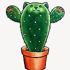 Catctus - Cat Cactus by Theysaurus