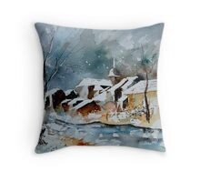watercolor 190607 Throw Pillow