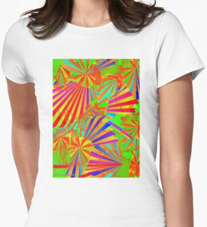 Wow Man It's The 60's Ts Womens Fitted T-Shirt