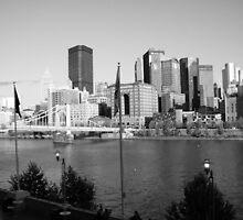 Pittsburgh Skyline by Lyndsay81