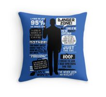 Archer - Sterling Archer Quotes Throw Pillow