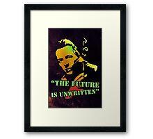 Joe Strummer   Framed Print