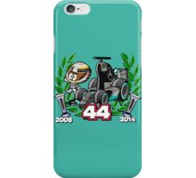 Lewis Double World Champ iPhone Case/Skin