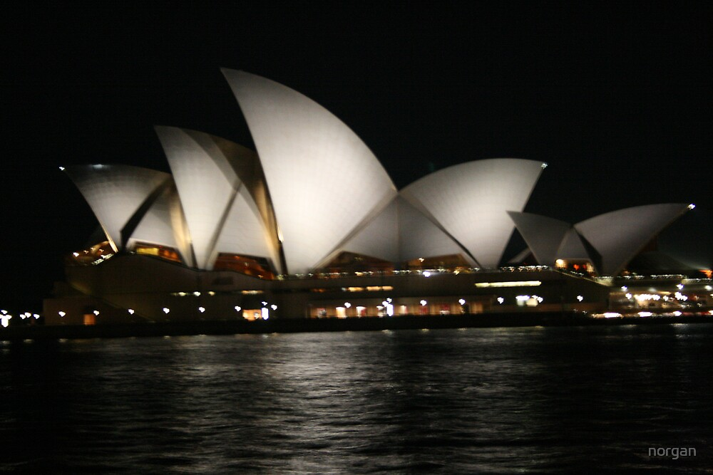 Opera House, Sydney - Night by norgan