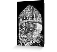 A Rainy Day Greeting Card