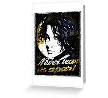 Michael Hutchence Never Tear Us Apart Greeting Card