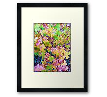 Yellow Decay Framed Print