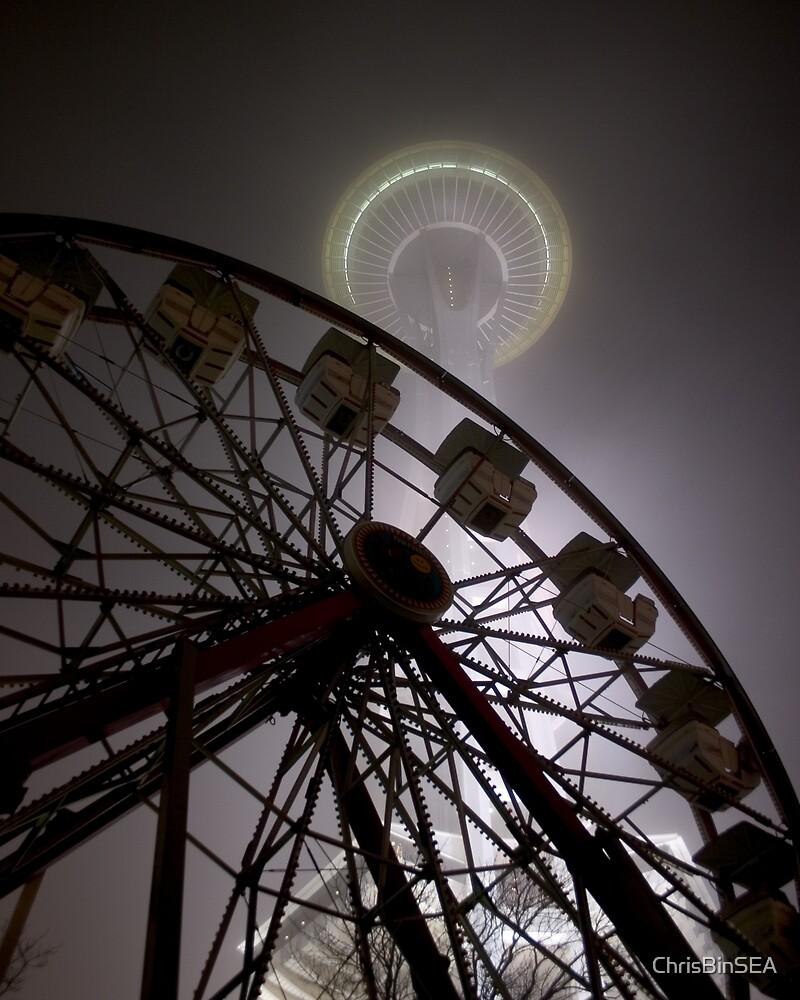 Needle and Wheel by ChrisBinSEA