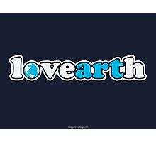 lovearth *blue Photographic Print