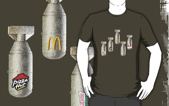 Weapons of Fat Consumption by BLAH! Designs