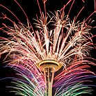 Happy New Year Seattle by ChrisBinSEA