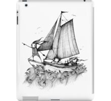 I bet my whiskers it's that way iPad Case/Skin