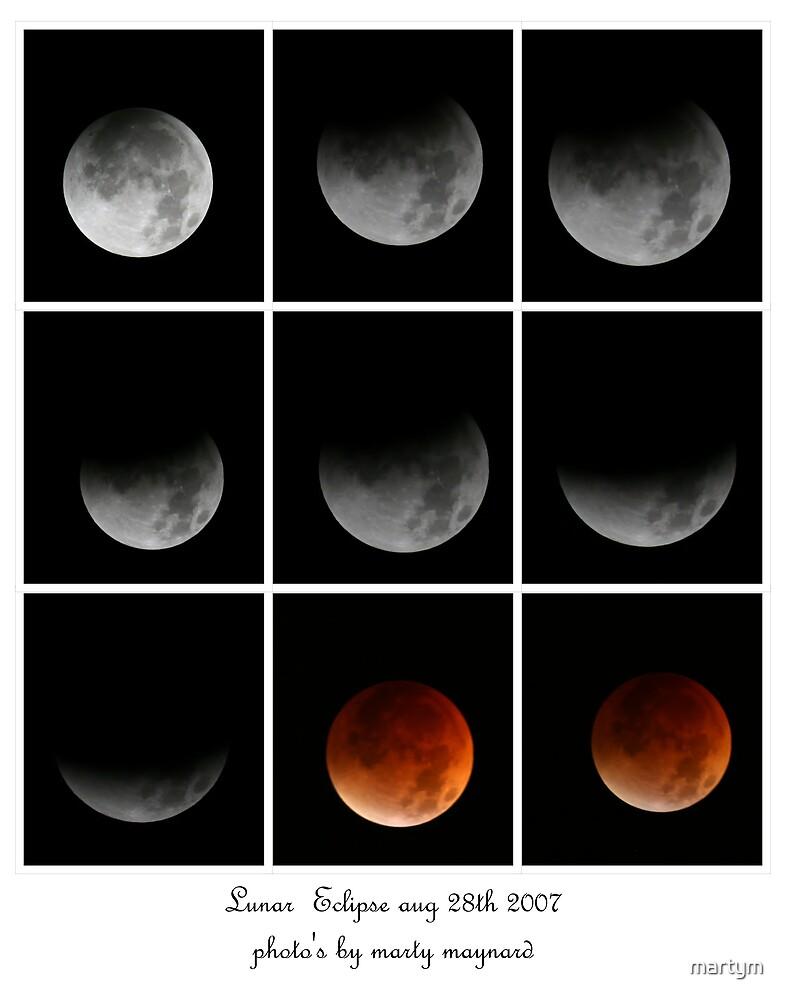 lunar eclispe 2007 by martym