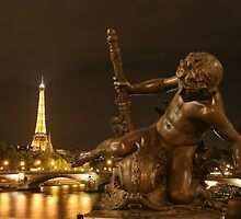 Paris by Night by Christophe Testi
