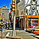 New York City Glimpse by Michael J Armijo