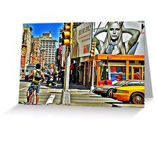 New York City Glimpse Greeting Card