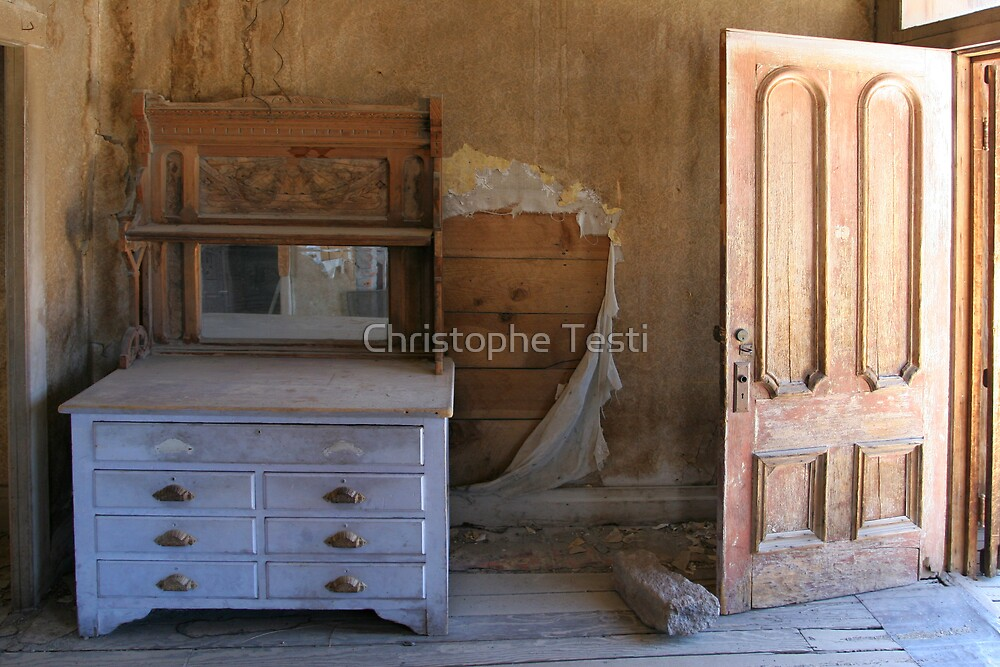 Bodie Ghost Town by Christophe Testi