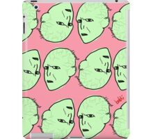 Voldemort Pattern iPad Case/Skin