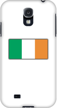IRISH FLAG, FLAG OF IRELAND, EIRE, PURE & SIMPLE by TOM HILL - Designer