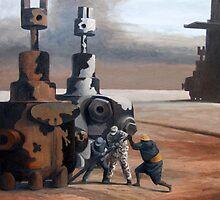 Tilting The Herd by Steve Warburton