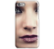 The Sea in her eyes iPhone Case/Skin