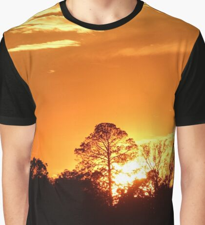 Sunset at Trout River Graphic T-Shirt