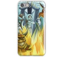 between heaven and hell iPhone Case/Skin