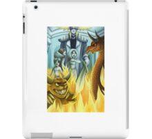 between heaven and hell iPad Case/Skin