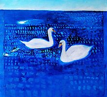 Inspirational Landscape and Bird Paintings by Susan Wellington