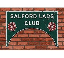 The Smiths Salford Lads Club Photographic Print