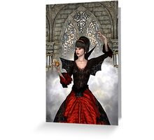 Beautiful Witch Greeting Card