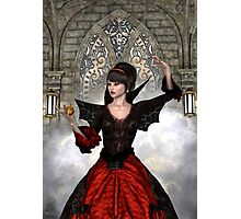 Beautiful Witch Photographic Print
