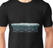 Glitch Substrata scaffoldplatform snow Unisex T-Shirt