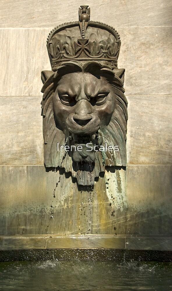 Lion Head Fountain II by Irene Scales