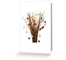 Wicker Tree Greeting Card