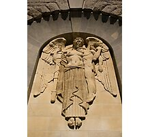 War Memorial Angel Photographic Print