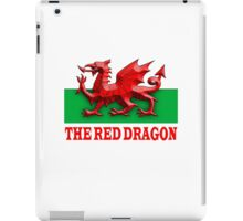 RED DRAGON OF WALES, WELSH FLAG iPad Case/Skin