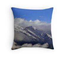Smoke Mountains Throw Pillow