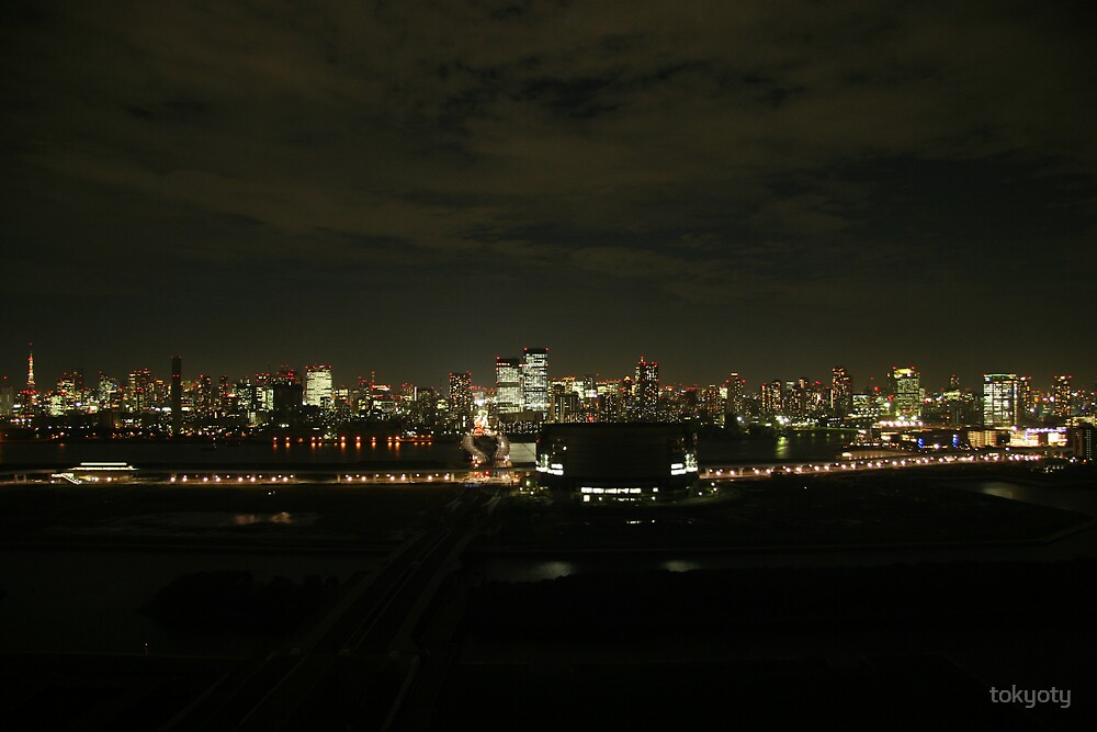 TOKYO FROM ODAIBA by tokyoty