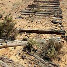 Ruins Old Ghan Railway,Oodnadatta Track by Joe Mortelliti