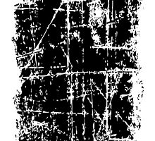 Scratched Black Surface by theshirtshops