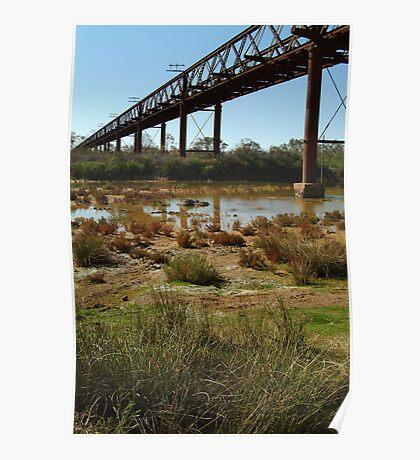 Argibuckle Bridge, Oodnadatta Track,Outback South Australia Poster