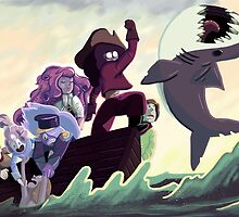 The Crystal Gems by Jordan Bender